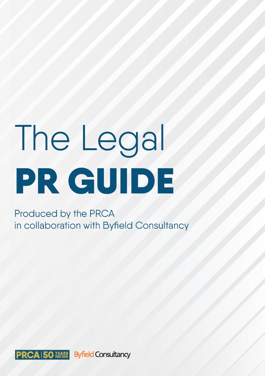 PRCA Legal PR Guide